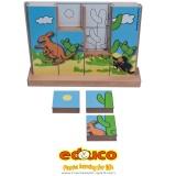 Vertical Puzzle Kangaroo