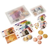 Compter les euros magnétiques : boite collégiale