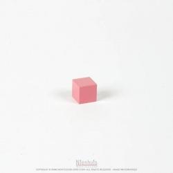 Cube tour rose 2 cm