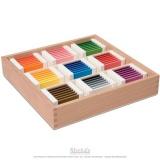 Troisième boite des tablettes de couleurs