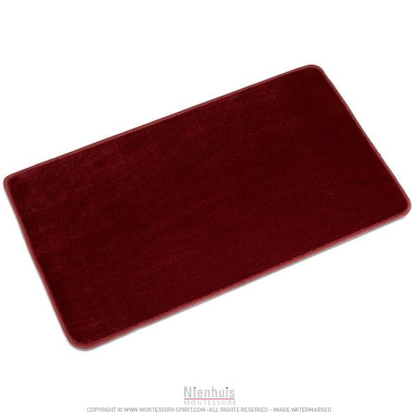 Tapis de sol rouge - Montessori Spirit