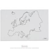Silhouette de l'Europe x50