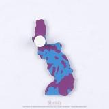Pièce puzzle de l'Asie : Philippines