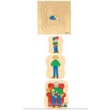 Puzzle évolutif - Grand-père