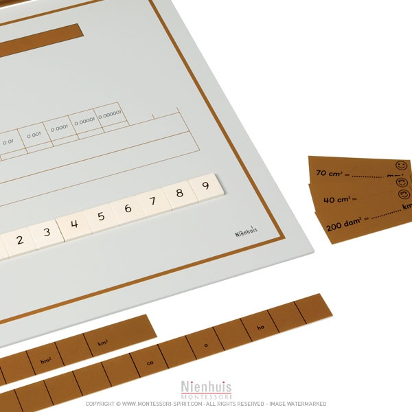plateau de calcul de surfaces montessori spirit. Black Bedroom Furniture Sets. Home Design Ideas
