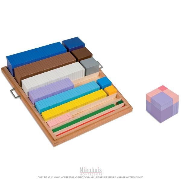 mat riel pour construction des cubes montessori spirit. Black Bedroom Furniture Sets. Home Design Ideas