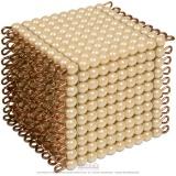 Cube de 1000 perles indiv. verre
