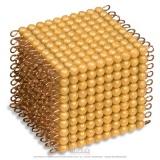 Cube de 1000 perles indiv. nylon