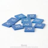 Timbre du chiffre 10 (x10)