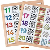 Apprendre à compter de 11 à 20