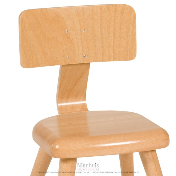 Chaise a1 26 cm montessori spirit for Chaise montessori