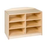 Tête de meuble 6 compartiments (H 69cm)