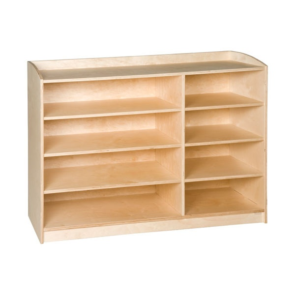 meuble de rangement 8 compartiments h 101cm montessori spirit. Black Bedroom Furniture Sets. Home Design Ideas