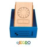 Tampon horloge digitale 24H