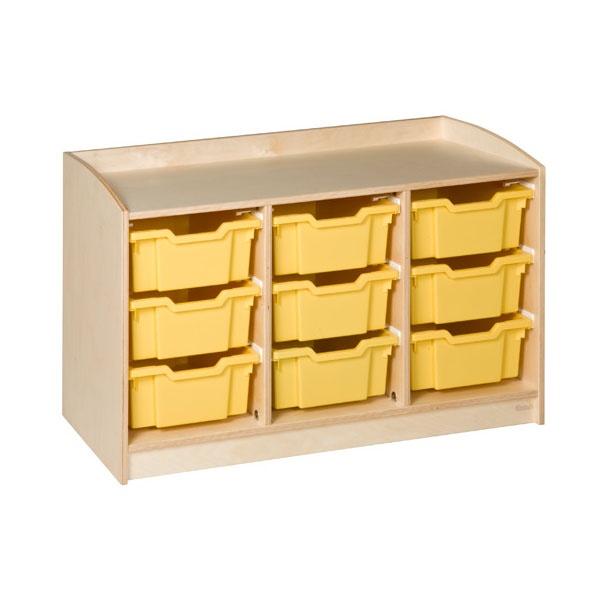Meuble 9 tiroirs h 69cm montessori spirit for Meuble 9 tiroirs