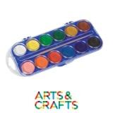 Boite 12 couleurs peinture à l'eau - Classic