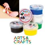 Set 6 pots 250 ml peinture à la main