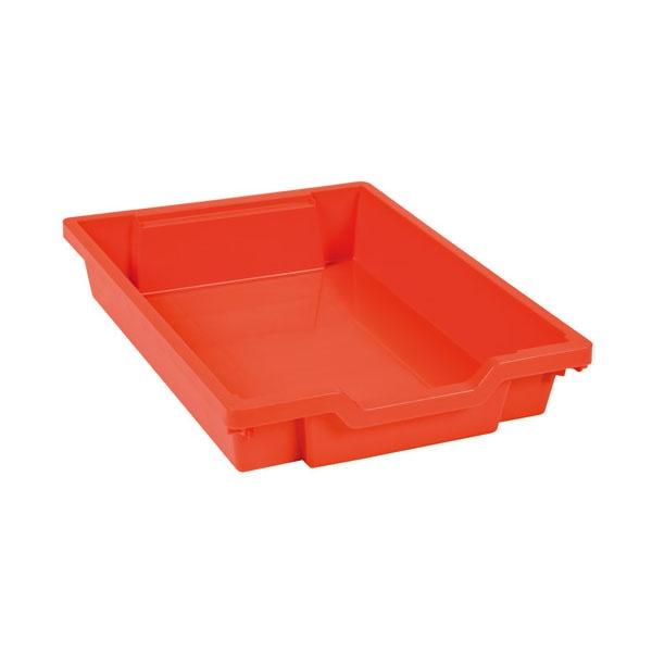 Tiroir plastique rouge h 7cm montessori spirit for Meuble plastique tiroir
