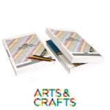 Boite carton 288 crayons forme triangulaire - Pointe 3.7 mm - 12 couleurs assorties