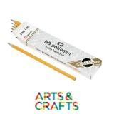Boite de 12 crayons HB mine graphite - Forme hexagonale