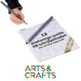 Boite de 12 crayons mine graphite - Forme triangulaire