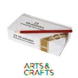 Boite de 72 crayons mine graphite HB - Forme triangulaire