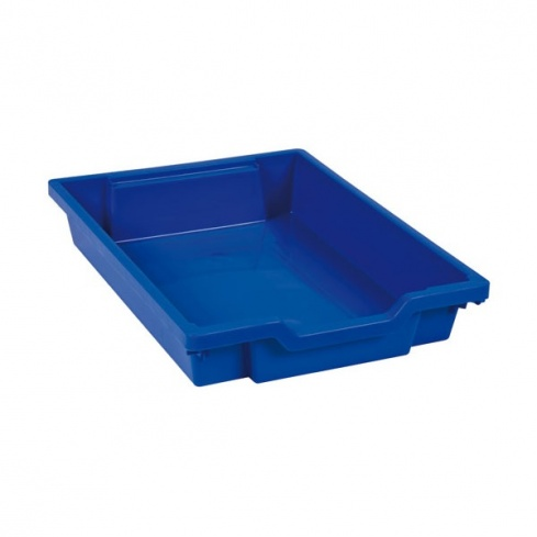 Tiroir plastique bleu h 7cm montessori spirit for Meuble plastique tiroir