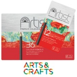 Boite de crayons de couleur haute qualité Artist - forme hexagonale