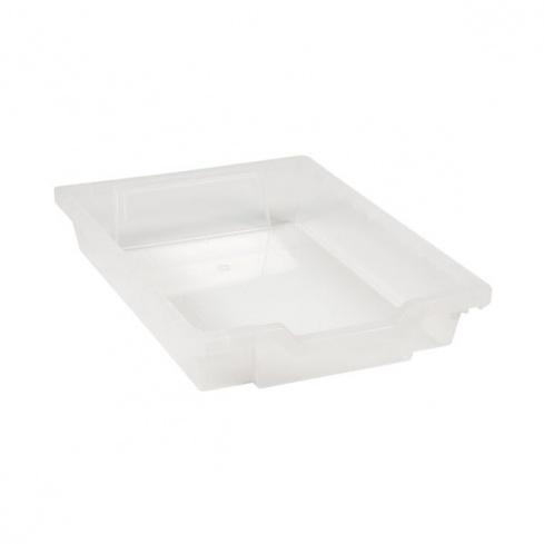 Tiroir plastique transparent h 7cm montessori spirit for Meuble plastique tiroir