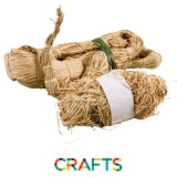 Raffia naturel, pack 150 ou 700 gr