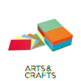 Pack de 500 cartons colorés 290 gr à poinconner - 11.8 x 15.6 cm