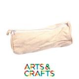 Trousse 22 cm à colorier et décorer en coton