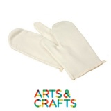 Gants pour four à colorier et décorer en coton