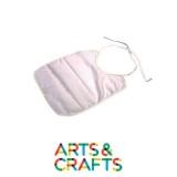 Bavoir à colorier et décorer en coton