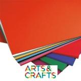 Papier craft 50 x70 cm - 120 gr - pack 17 couleurs assorties + blanc