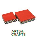Pack 1000 feuilles de papier crépon - assortiment 10 couleurs