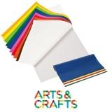 Rouleau papier glassine 50 x 70 cm - 100 feuilles couleurs assorties - 42 gr