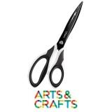 Ciseaux asymétriques Maped pour droitier et gaucher - 21 cm