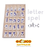 Letter game magnetic