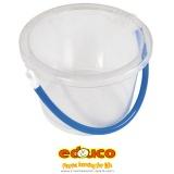 Sand bucket transparent
