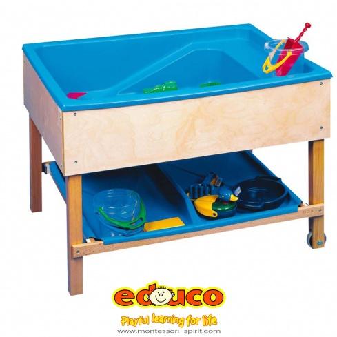 plateau pour table sable eau montessori spirit. Black Bedroom Furniture Sets. Home Design Ideas