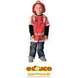 Fireman (excluding helmet)