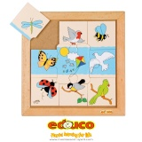 Animals puzzle - flying animals