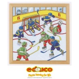 D - Sports puzzle - ice hockey