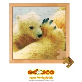 D - Photo puzzle - Polar Bear