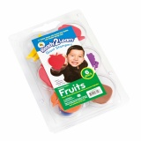 Jumbo stamps - Fruits - Size 8 cm