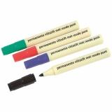 Marker - Heutink - Round tip - Red