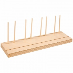 Additional wooden stand