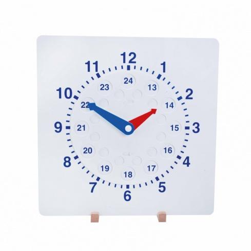 Clock synchronous teacher