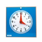 Clock with transparencies teacher